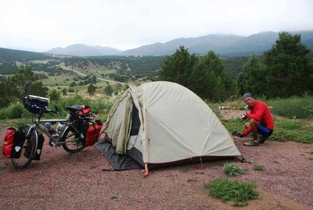 Camping in the Colorado Rockies