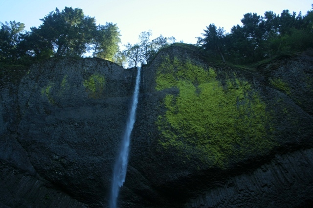 Spectacular Waterfall just off the Historic Columbia River Highway.