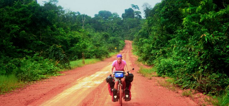 Biking the Guianas: dengue dampens the fun