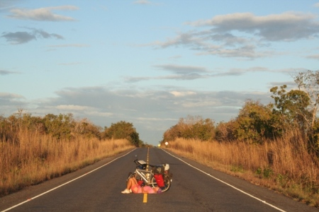 The roads are REALLY empty in Central Brazil.