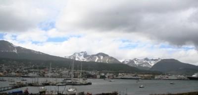 Ushuaia's Port.