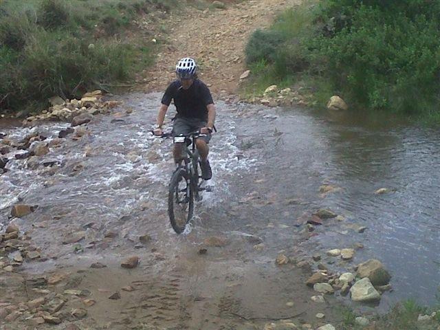 Paul on bike
