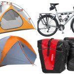Bicycle Touring Essentials: Bike, Panniers + Tent