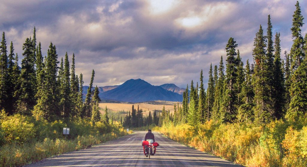 canada bicycle touring