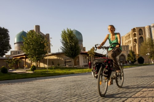 architecture in uzbekistan (Top 5 Reasons to Go Bicycle Touring in Uzbekistan!)