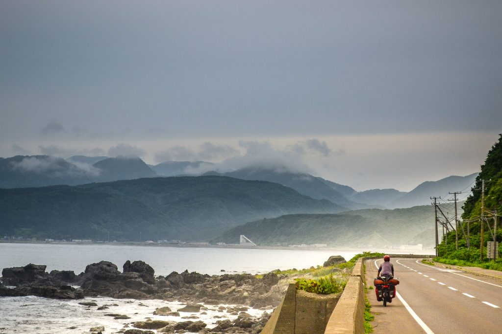bicycle touring in Japan