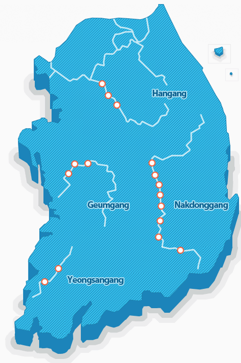 korea cycle routes map