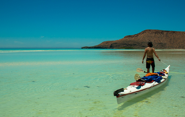 After reaching the end of the Baja Peninsula, Antonio and I needed a rest. So we took one weeks worth of food and water and paddled around Isla Espirtu Santo.