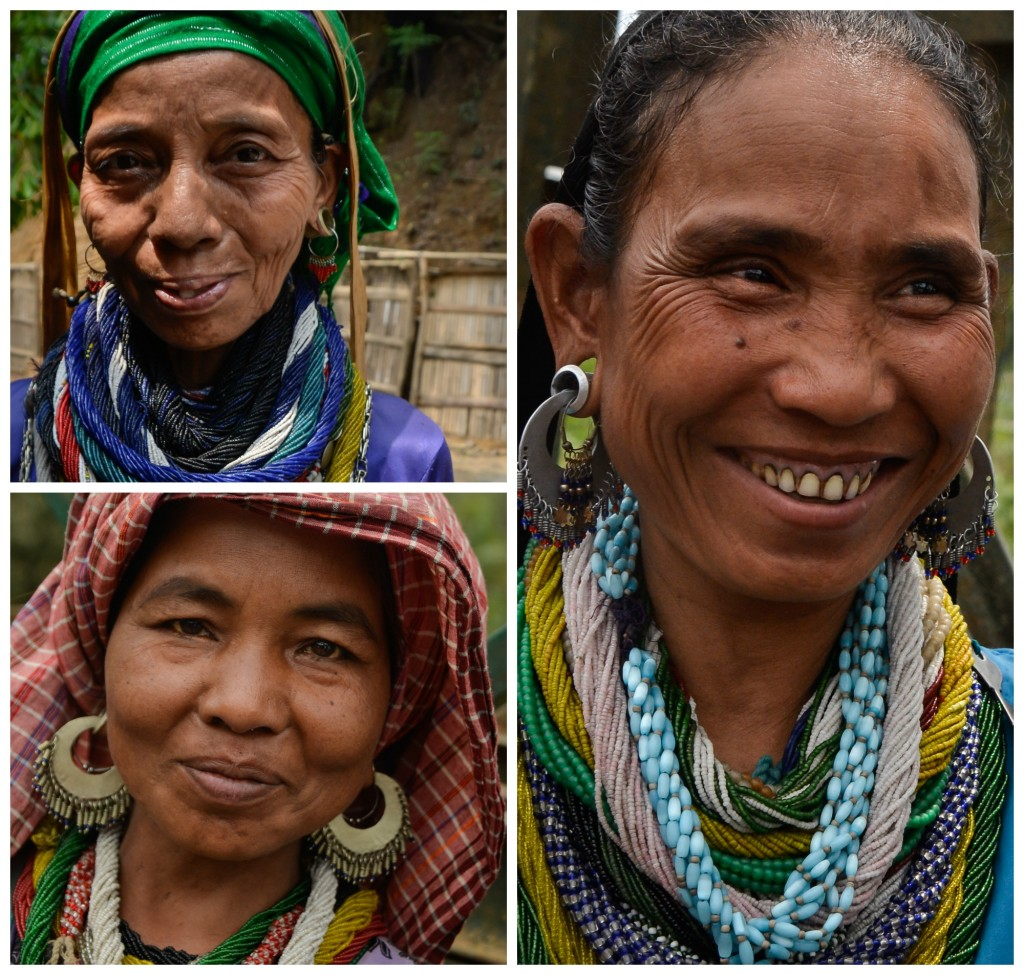 The beautiful women of the Bru tribe of Mizoram.