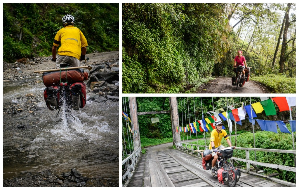 Some seriously fun cycling.  Definitely wouldn't want to cycle Sikkim in the wet season.