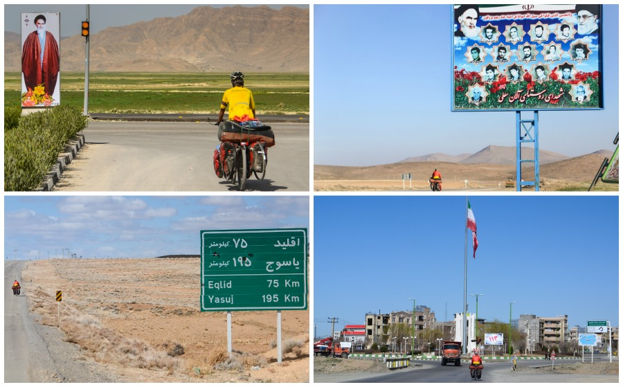 bicycle touring in Iran