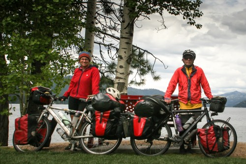 our new Ortlieb backroller plus panniers