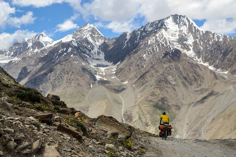 Bicycle Touring in the Indian Himalaya: Spiti and Lahoul Valleys
