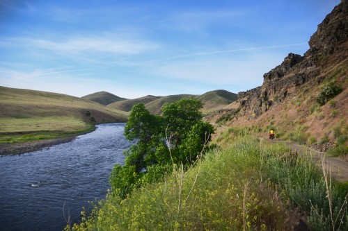 weiser river trail (A Change of Plans: Bicycle Touring on Idaho's Weiser River Trail)