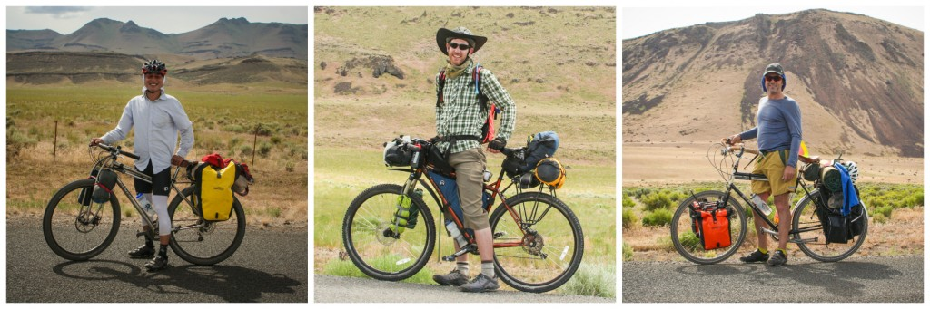 bikepackers on steens mountain