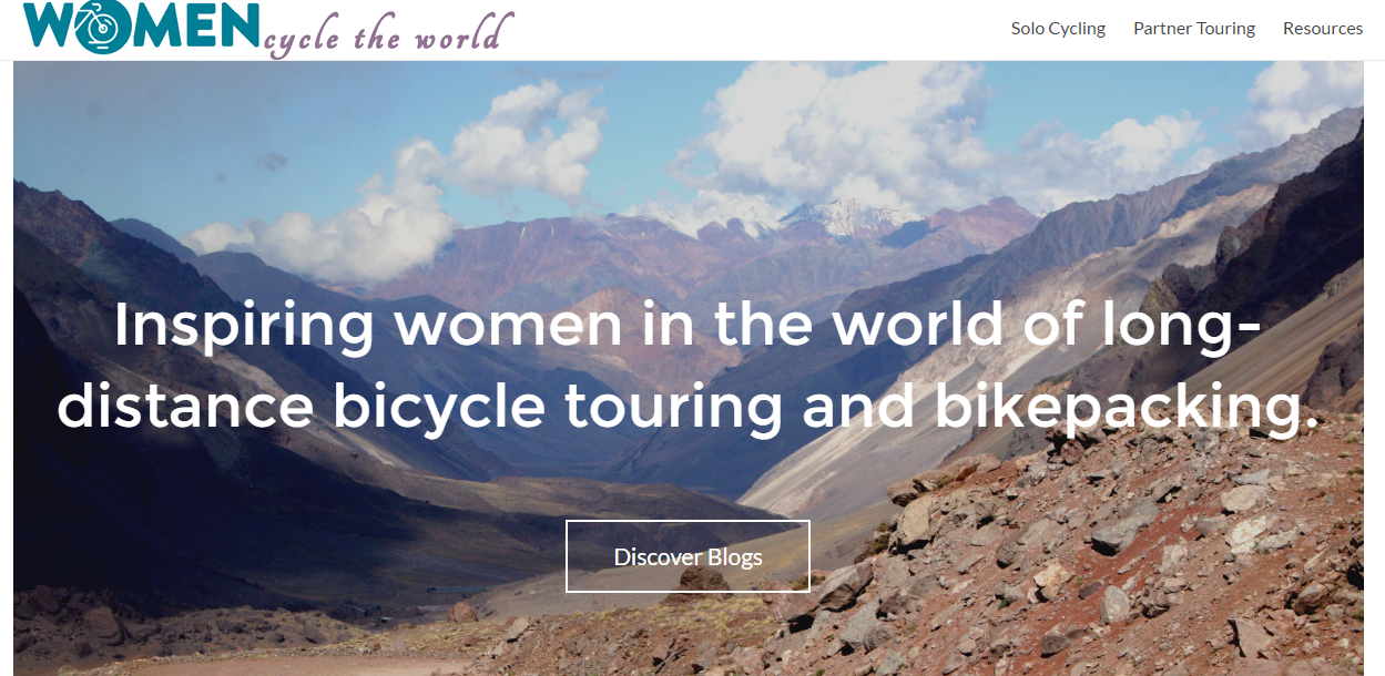 Welcome Women Cycle The World