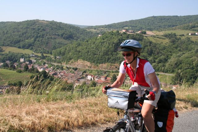 bicycle touring in france