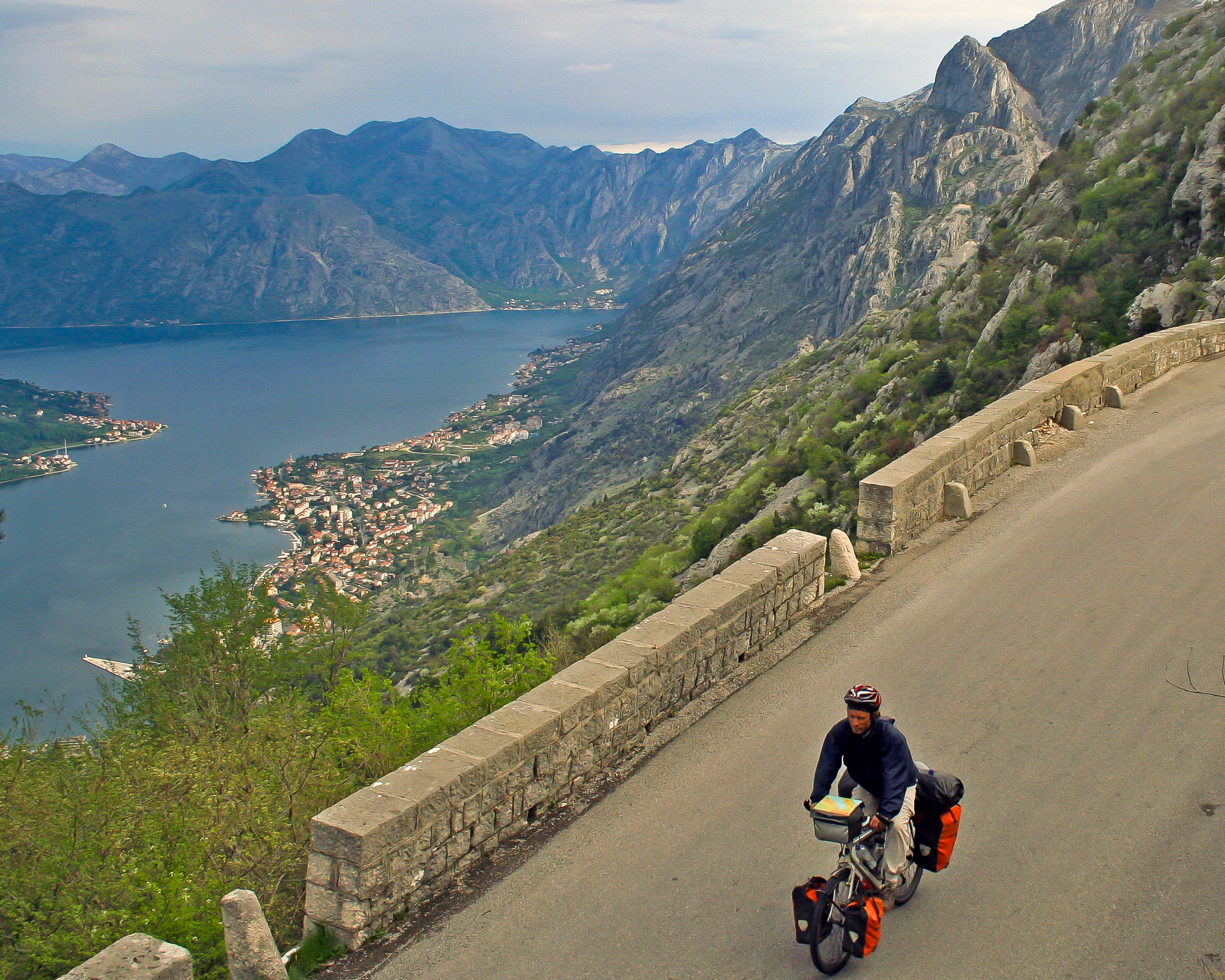 bicycle touring in Montenegro