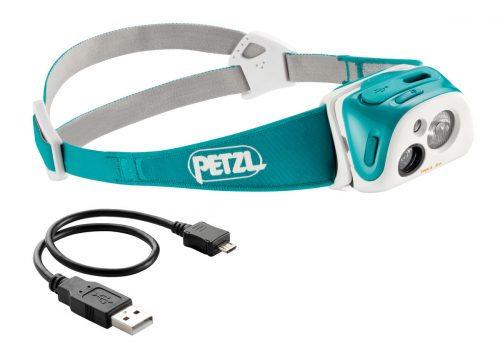 petzl USB headlamp