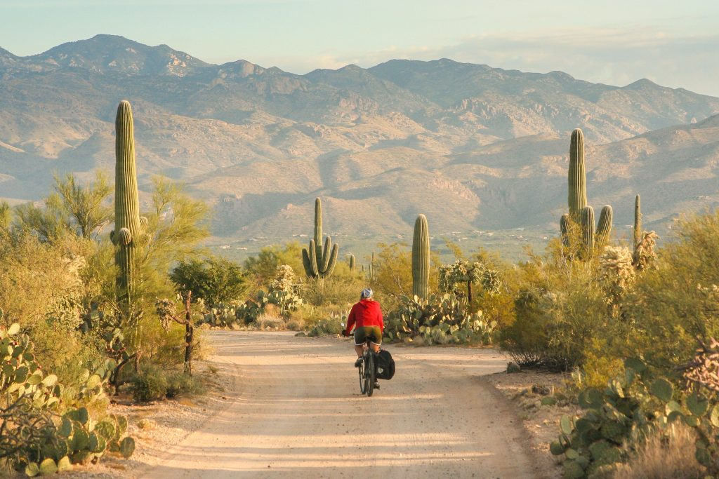 Bicycle Touring in Arizona USA