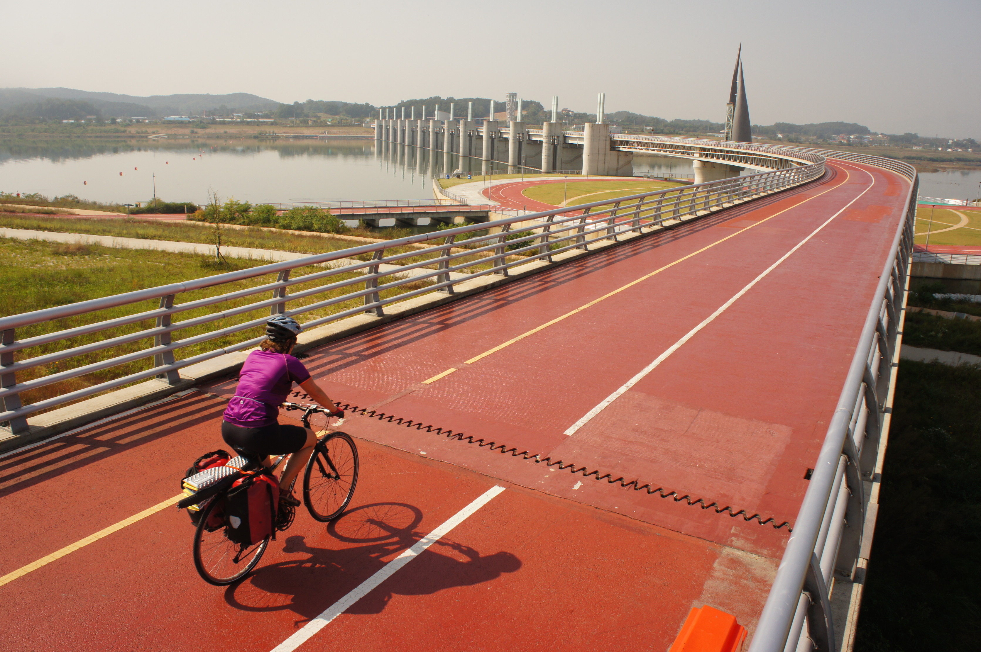 bicycle touring in South Korea 4 Rivers Trail