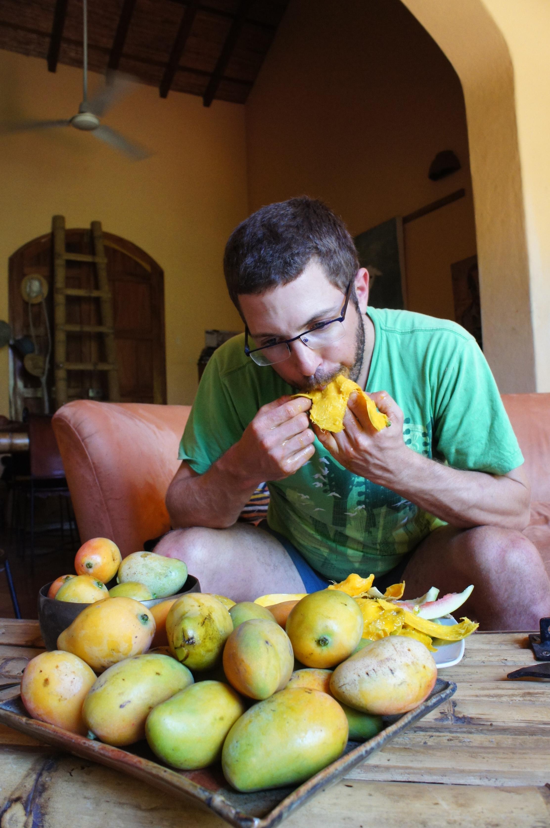 mangoes in Nicaragua