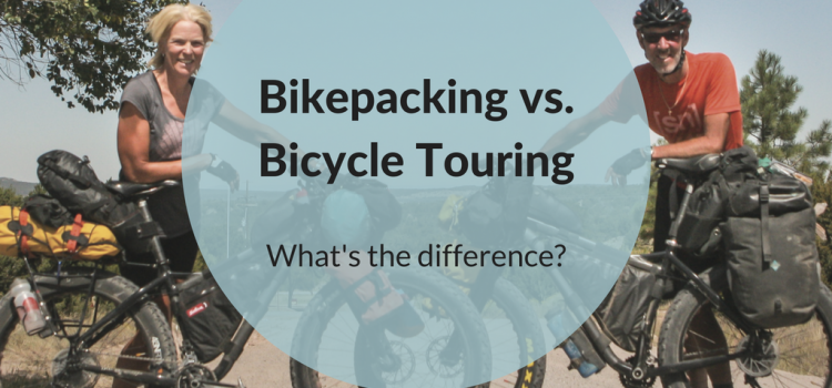 What is the difference between bikepacking and bicycle touring?