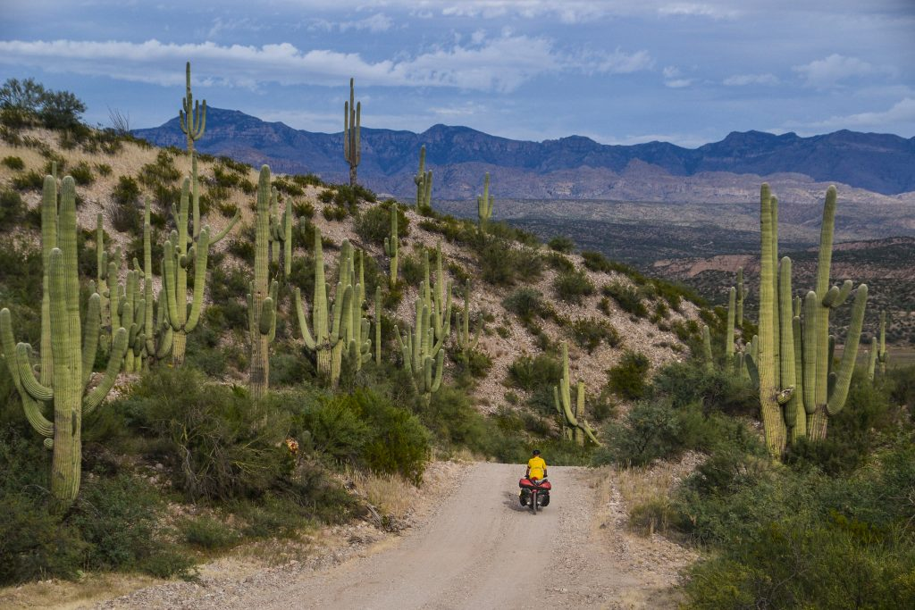 bikepacking in Arizona