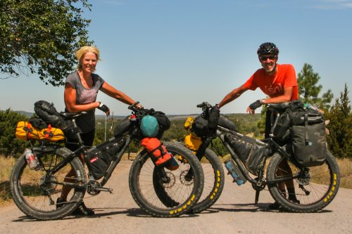 Bikepackers On The Gdmbr Worldbiking Info