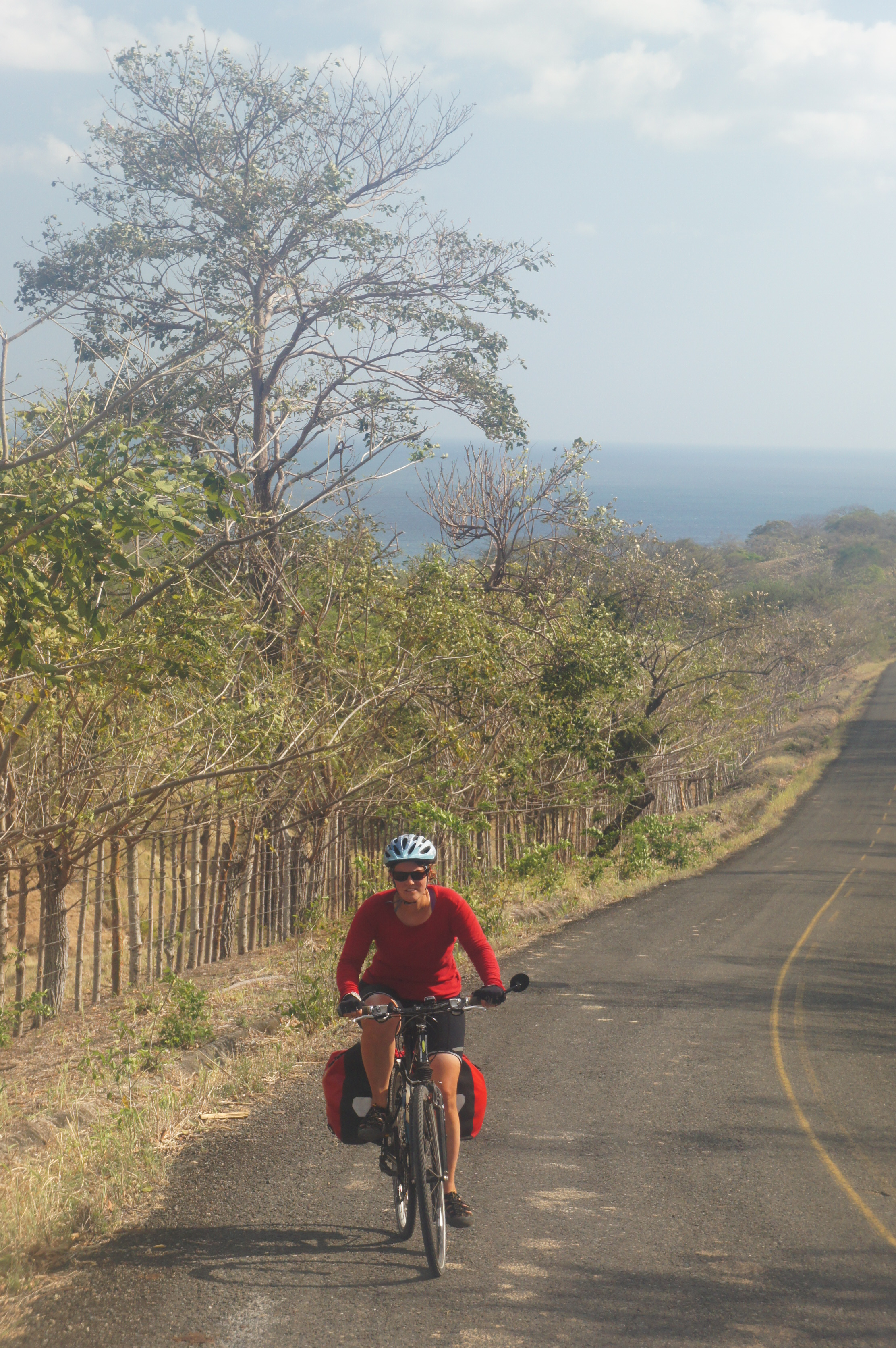 Bike touring on Azuero Peninsula, Panama