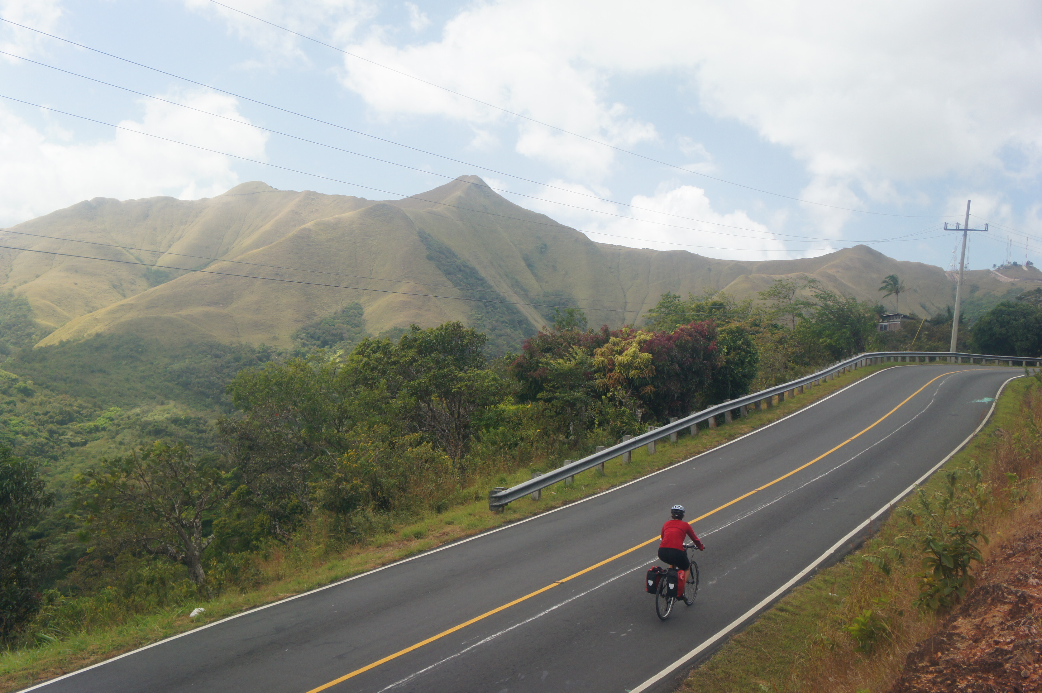 Bike touring in Panama