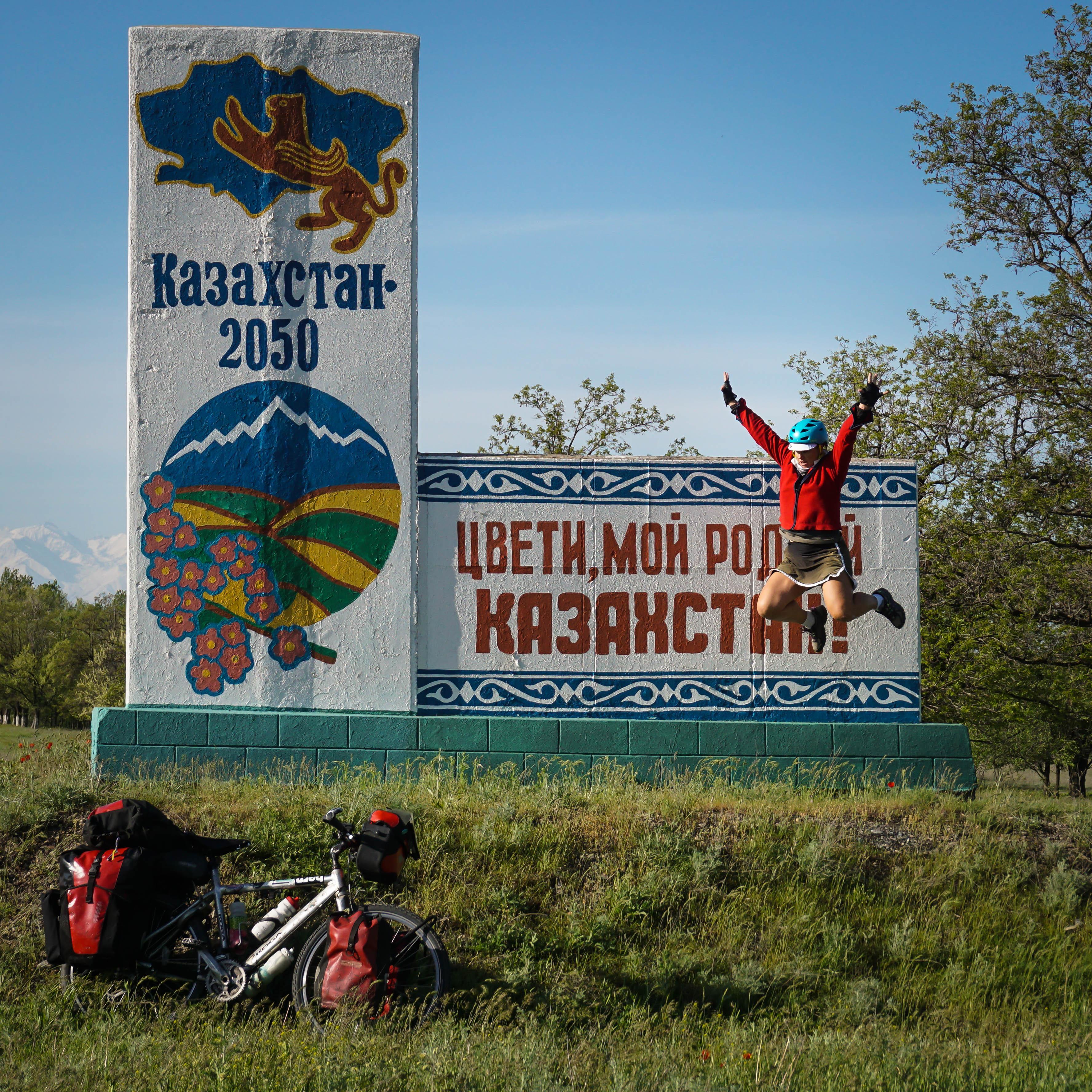 Hello Kazakhstan!