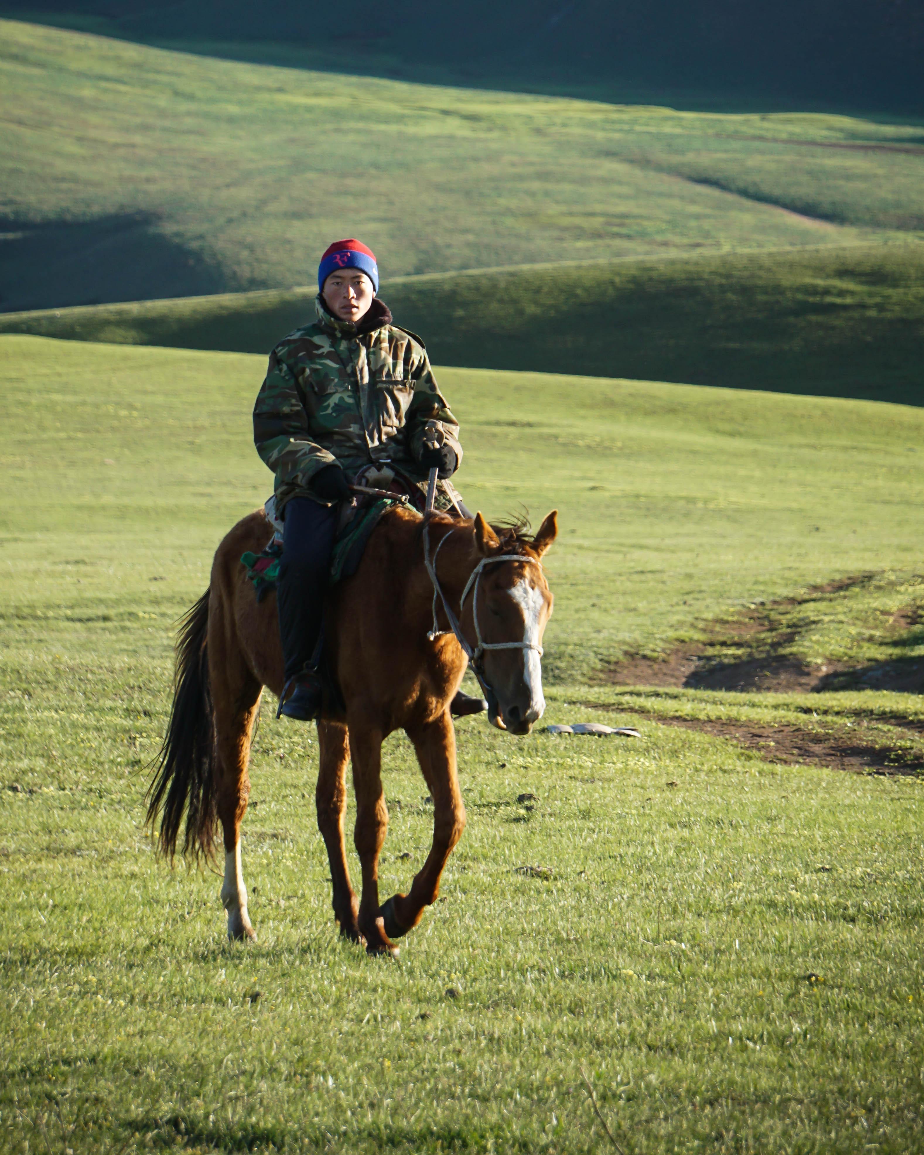 Horseman in Kyrgyzstan