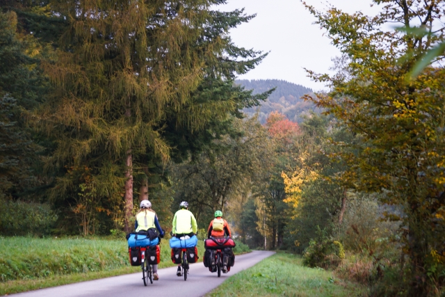 EuroVelo 6 cycling