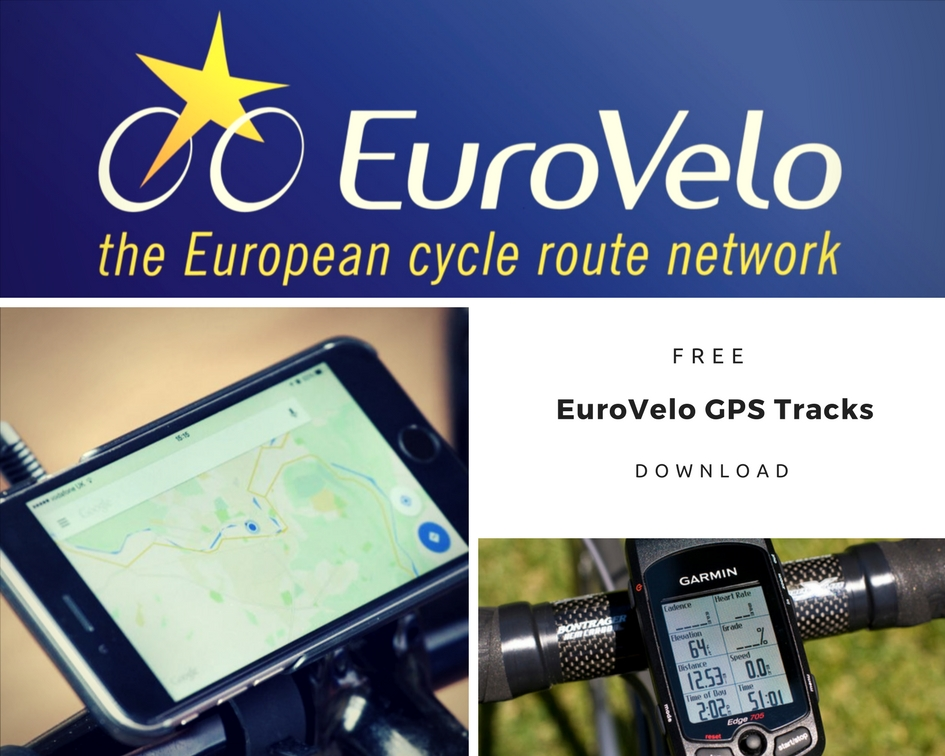 Download Euro Velo GPS Tracks