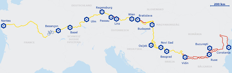 eurovelo 6 bicycle route