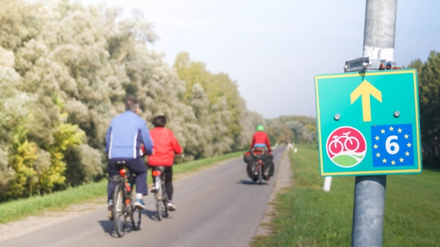 eurovelo 6 in Hungary