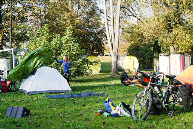 Camping in Ottensheim Germany