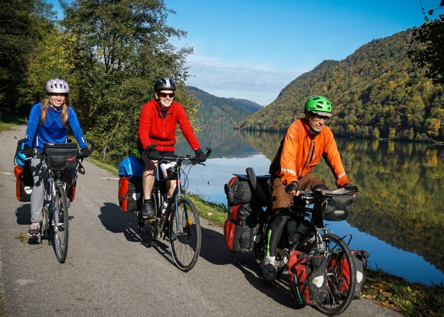 bicycle touring in Europe Danube RIver
