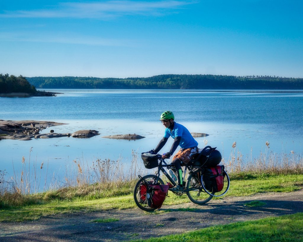 bicycle touring Aland Islands Finland