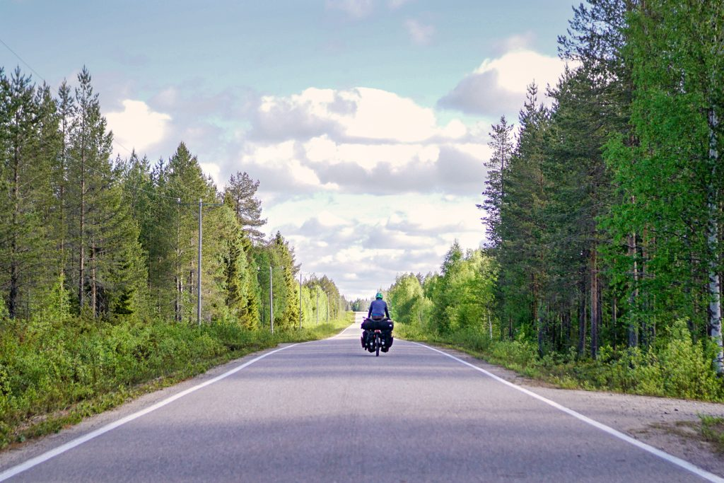 bicycle touring in Finland