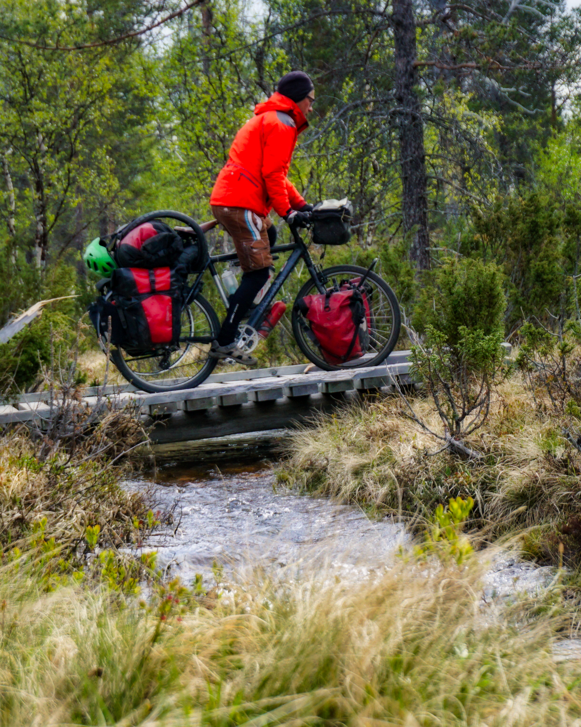 bike touring in Finland