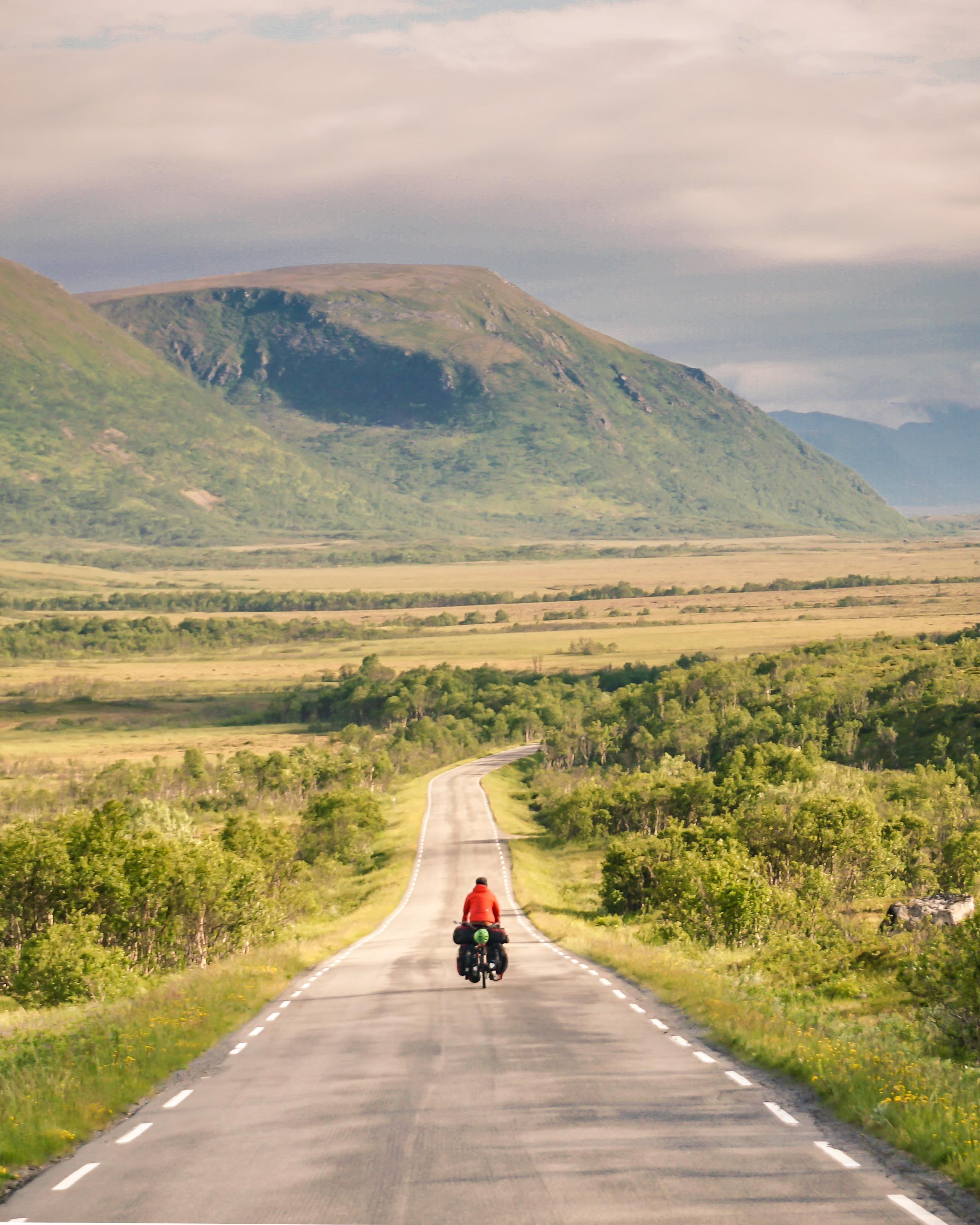 Bicycle touring in Northern Norway