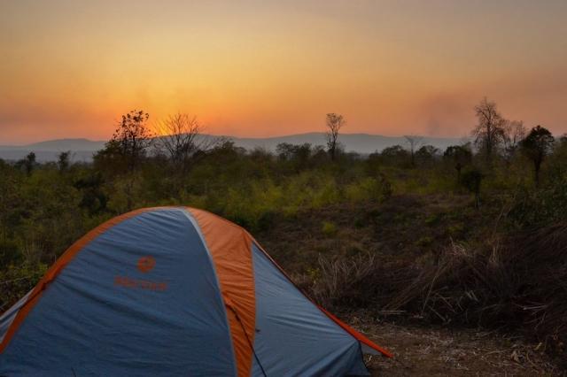 camping in Myanmar  (Burma)