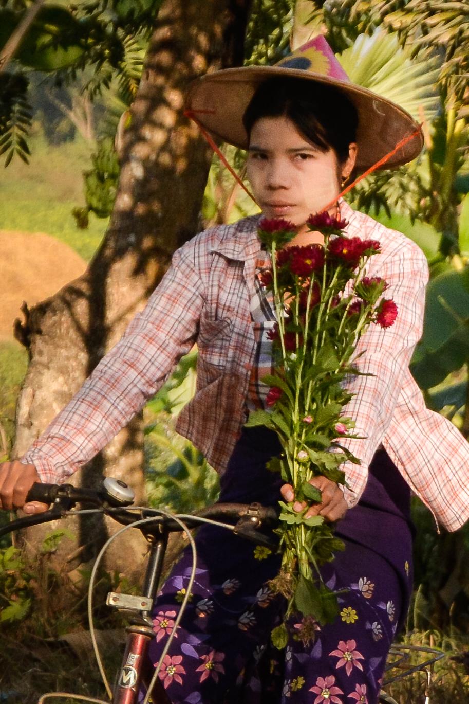 Burmese Biker