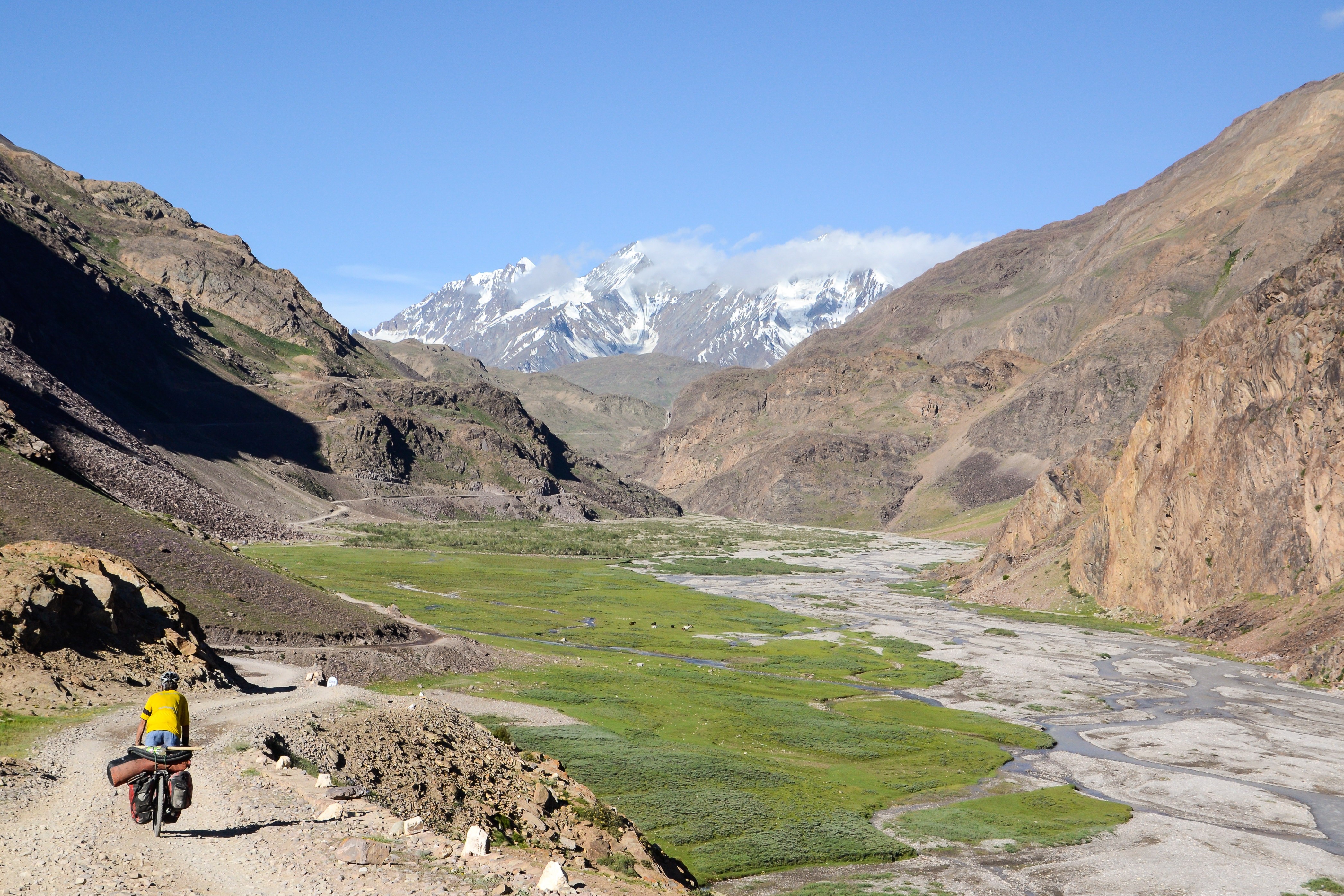Spiti Valley Bicycle Touring, Indian Himalayas