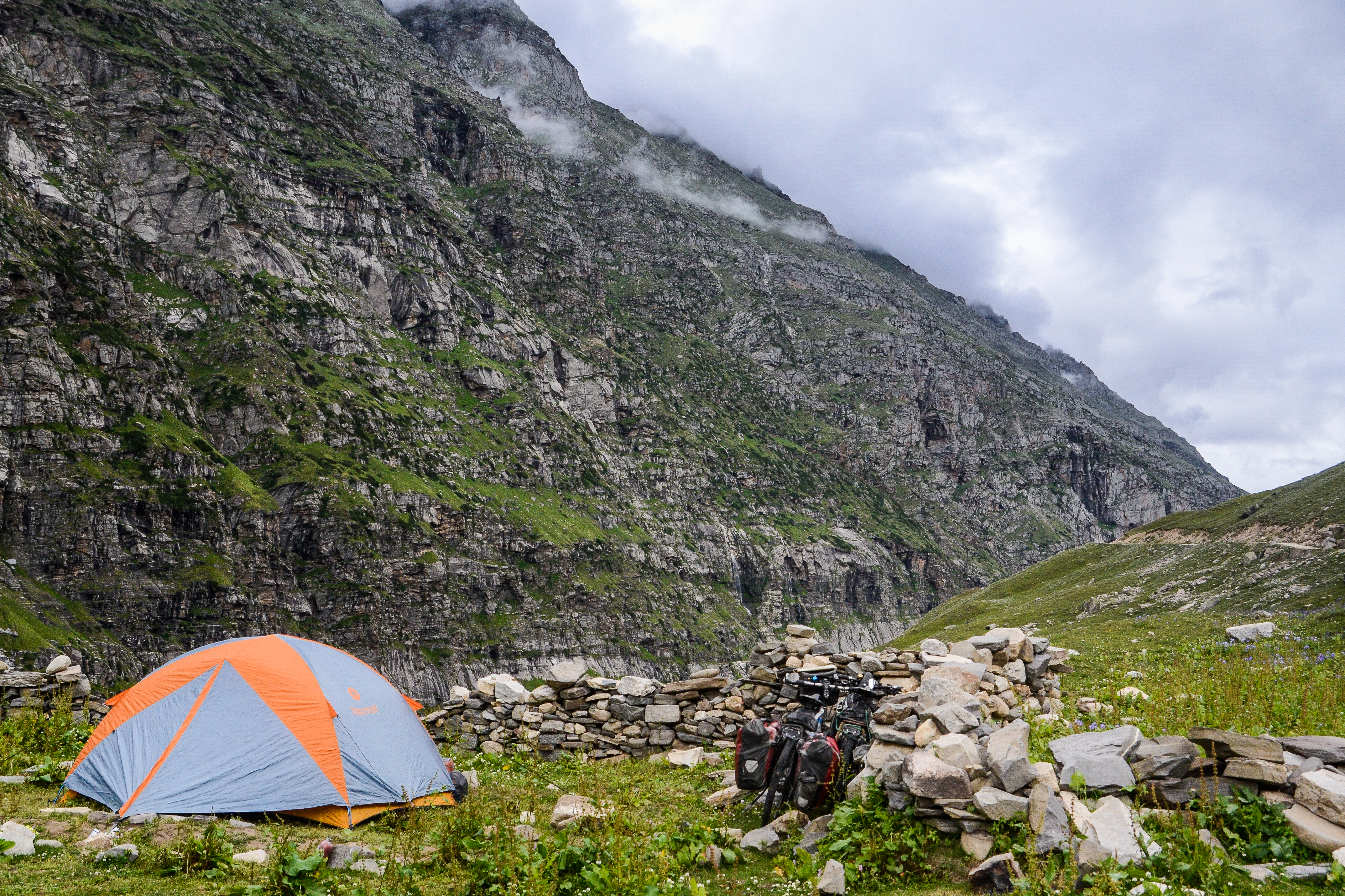 Spiti Valley Camping, Indian Himalayas
