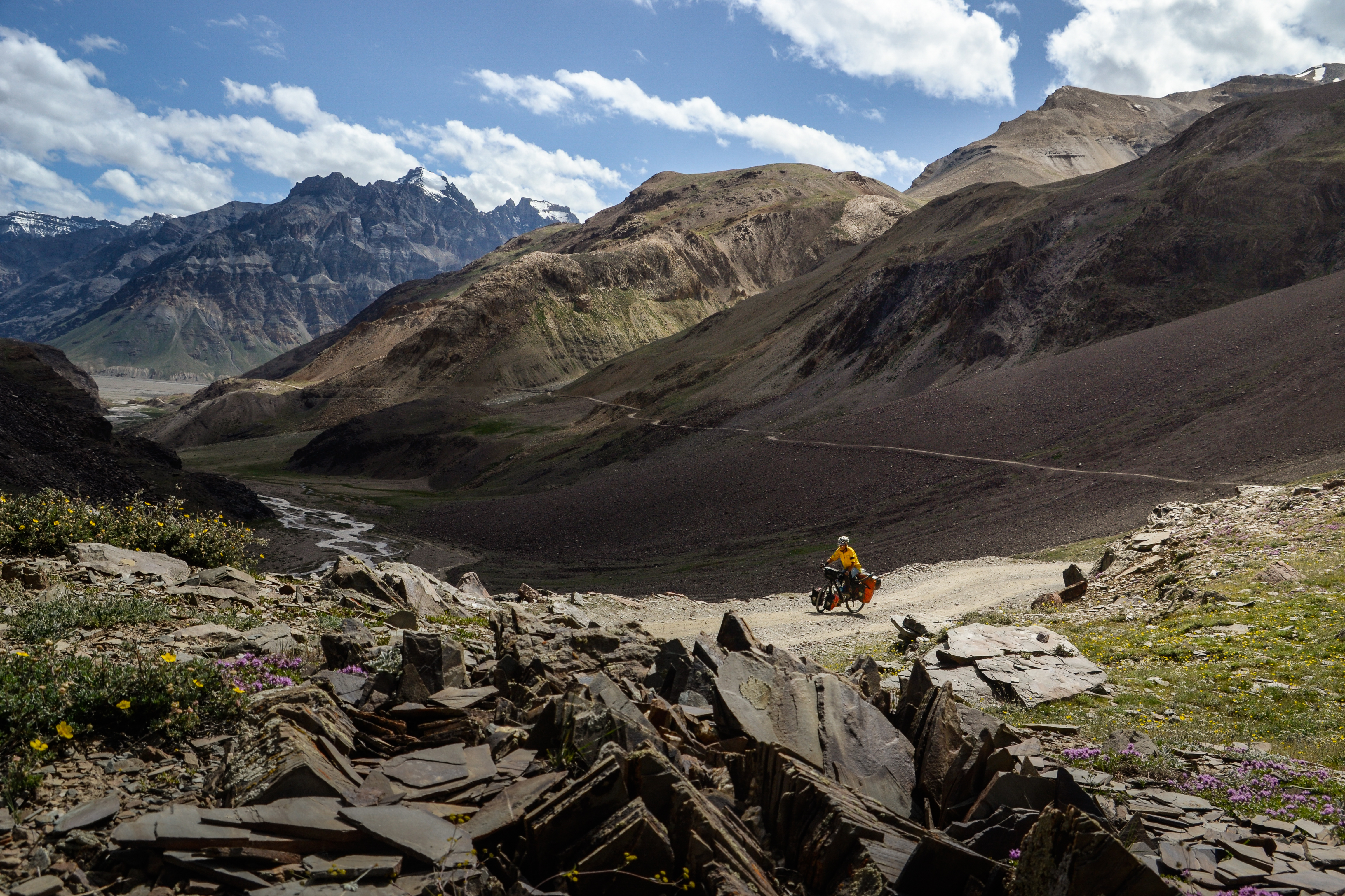 Cycling in Indian Himalayas
