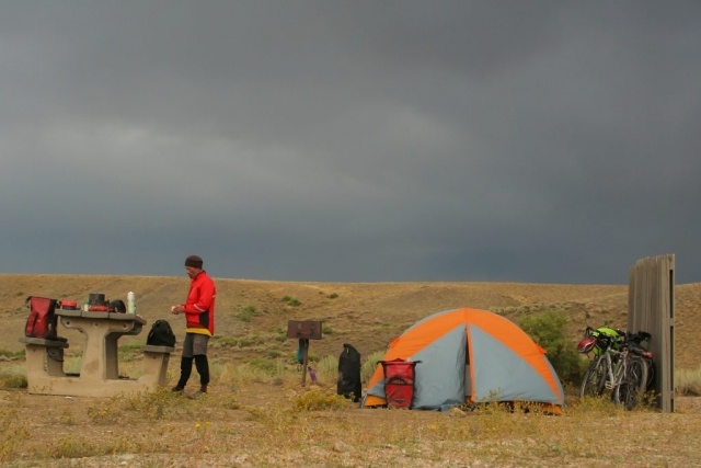 free camping in Wyoming
