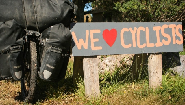 we love cyclists